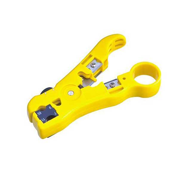 Wire Terminal Crimper GR59//6//11//7 UTP//STP Coaxial Cable Stripper Stripping Plier